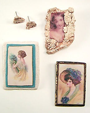 polymer clay image transfer pins